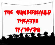 The Cumbernauld Theatre 17/10/98