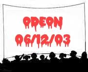 Odeon, Glasgow 06/12/03