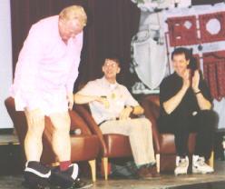 Biggins Shows His Legs
